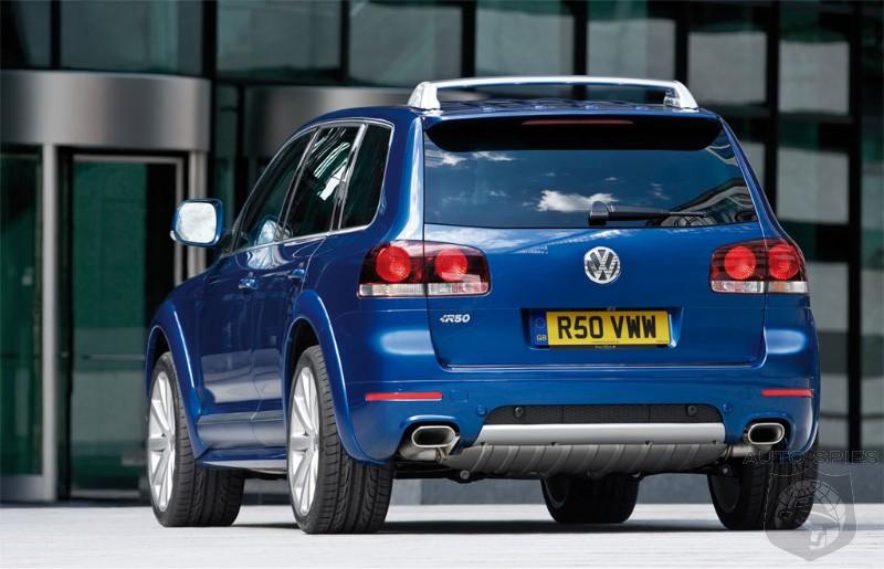 2008 Volkswagen Touareg R50 On Sale Uk Autospies Auto News